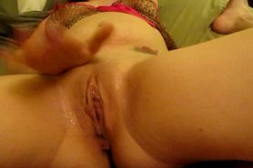 Fucked till i squirted on his big cock