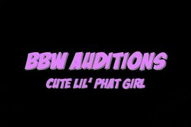 BBW Audition