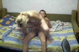 No sound: Homemade - Young couple doing it in several p