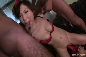 Dude with a dick mask fucks Karen hole with his cock mask