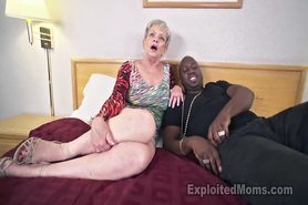 Busty Granny in Creampie Video view on tnaflix.com tube online.