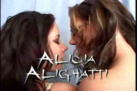 Haley And Alicia 3some - M27