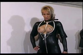 Lovely slave girl gets her tits tied up view on tnaflix.com tube online.