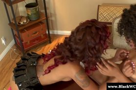 Skin Diamond and Misty Stone ebony lesbian sex