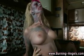 Tattooed emo bitches get fucked