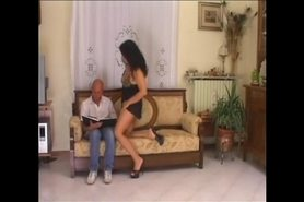 FIORELLA - 50 + brunette in action