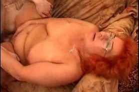 orange haired fat ass milf