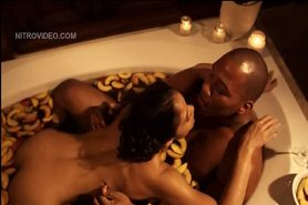 Celeb Maya Gilbert fucking in the bathtub