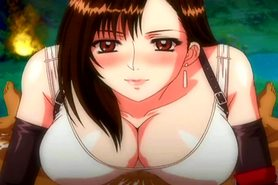 Final Fantasy VII - Tifa's Handjob, Blowjob & Boobjob