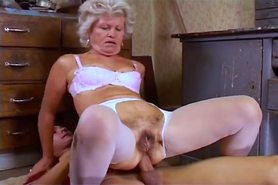 Granny Effie Hairy Ass Fuckin' view on tnaflix.com tube online.