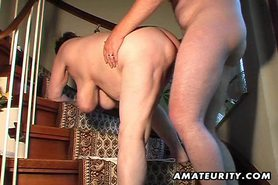 Chubby amateur wife toys and sucks and gets fucked view on tnaflix.com tube online.