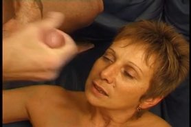sexy french mature love painful anal sex and squirt