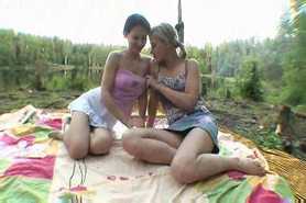 hot teen-orgy at the lake