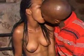 Amateur African Couple from Angola