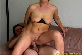 Crazy old mom gets fucked hard and cumshot on tits view on tnaflix.com tube online.