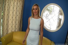 Pair Of Amazing Blondes Pounce On A Dick view on tnaflix.com tube online.