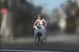 Bicycle Orgasm City Tour 2 3of5 view on tnaflix.com tube online.