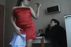Turkish couple fucks in kitchen view on tnaflix.com tube online.