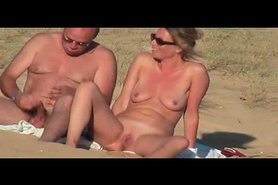 Hidden vid of hot French couple on beach part 7 view on tnaflix.com tube online.