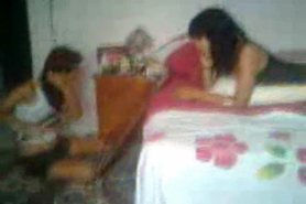 Young couple fuck while girlfriend and boyfriend watching view on tnaflix.com tube online.