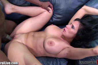 Hot & curvy Mature Latina fucked by a huge black cock