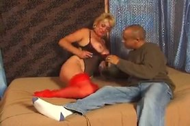 Granny allows her new black boy to fuck her in the asshole view on tnaflix.com tube online.