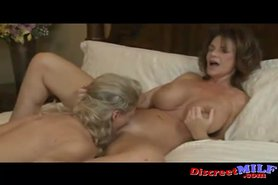 Two MILFs get nasty with each other view on tnaflix.com tube online.