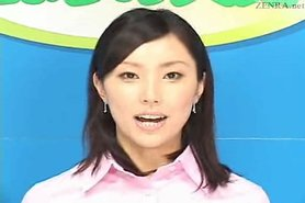 Mosaic; Japanese newscasters get their chance to shine view on tnaflix.com tube online.