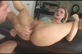 she takes anal filling to a whole new level