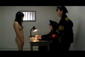 Japanese humiliated and fucked in jail