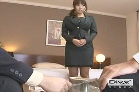 Hitomi with two guys (censored)