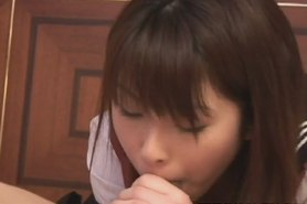 Teen Megumi Sits On His Face And Gives A Blowjob