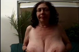 Big Boobs Grannie -78 yo and still fuckin