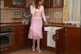 Plumber cleared hose housewife