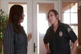 Girls in Love - A MILF seduces a cute Policewoman