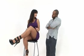 Black Guy Gets Fucked By Two Horny Brunettes