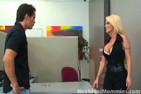 Milf at work gets fucked by employee