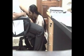 No Sound: Boss caught having sex with office girl