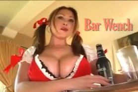 bar wench titty fuck pov