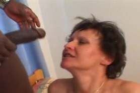 BBC loves Hairy Mature Anal by TROC