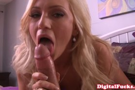 POV - Blonde fucks and sucks