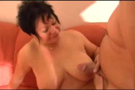 Fat pierced German mature