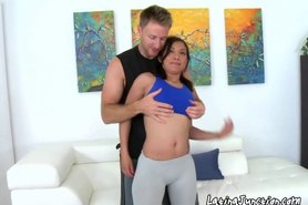 Cute Latina Girl Wants To Learn Yoga Sex From Her Instructor