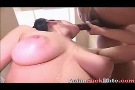 Innocent Asian girl gets massive facial load