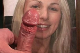 erotic cumshots on pretty faces