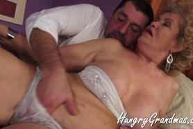 Fat Horny granny And Her Young Stud