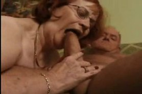 Fat Granny Loves The Cock