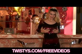 Natalia Starr brings in the new year with an intense orgasm