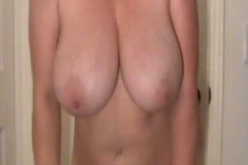 Sheeola natural big F cup tits