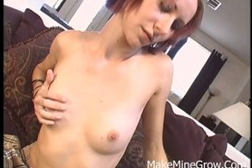Tracy Trixxx - Black colored Hair Woman Banged By Big Cock And Get Facial